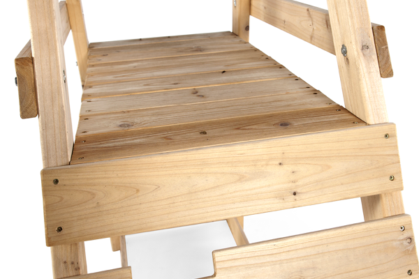 FSC® CERTIFIED SUSTAINABLY SOURCED WOOD