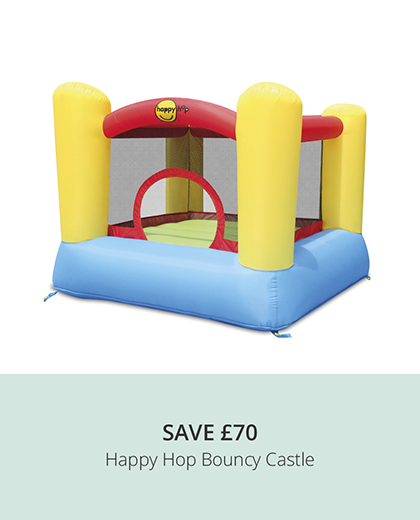 HAPPY HOP 9003 BOUNCY CASTLE WITH SAFETY ENCLOSURE