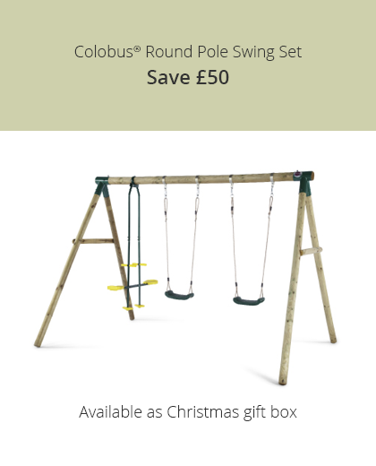 Save £50 on the Colobus Swing Set