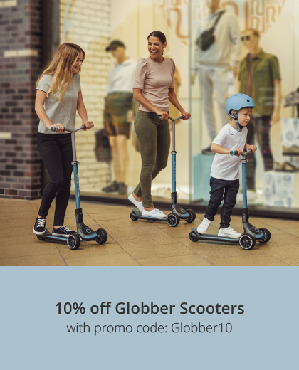 10% off Globber Scooters with discount code: GLOBBER10