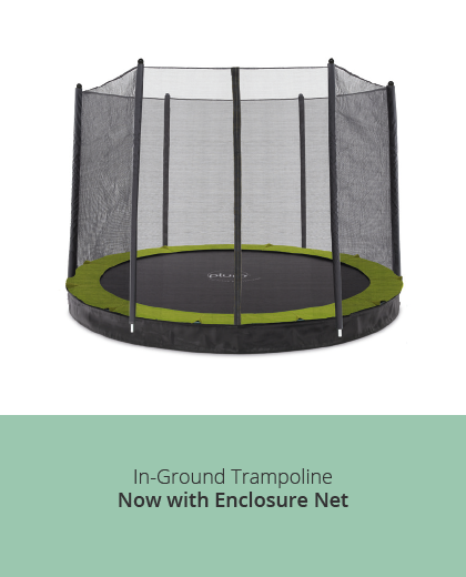 Plum Play In Ground Trampolines with Enclosures