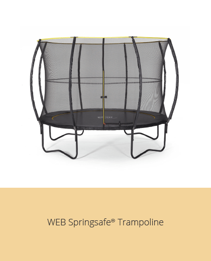 Plum Web Springsafe Trampoline