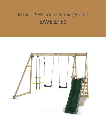 Plum Mandrill Wooden Play Centre