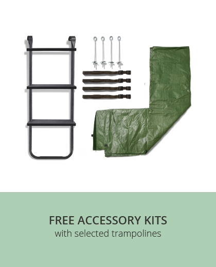 Free Plum Trampoline Accessory Kits