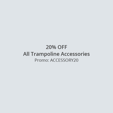 Get 20% off Plum Trampoline Accessory Kits
