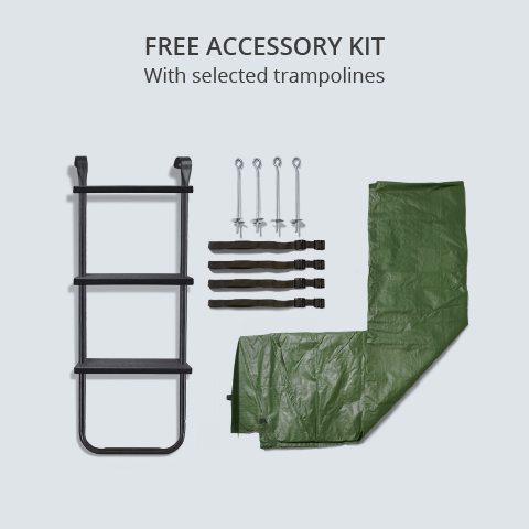 Free Plum Trampoline Accessory Kit Offer